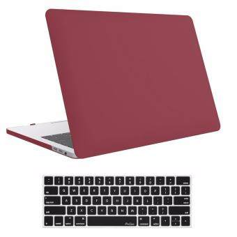 Frosted shell MacBook Case, MacBook Pro (A1706/A1708)13 inch Case2017 & 2016 Release A1706/A1708,(With keyboard membrane) ProCase(Red)