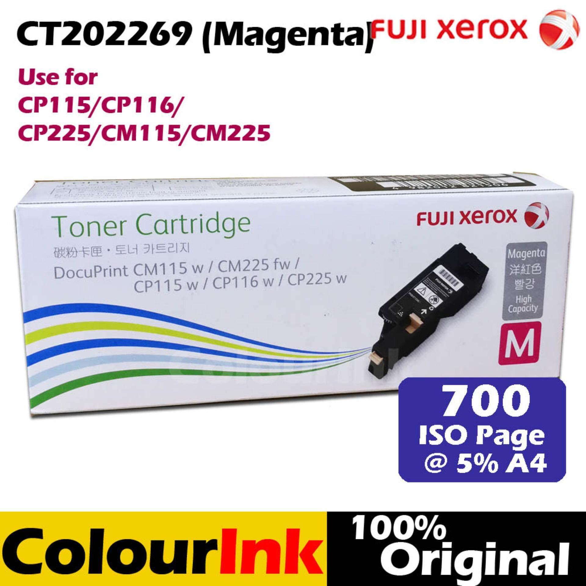 Fuji Xerox Ct202269 Low Original Magenta Toner Cp115w Cp225w Docuprint Cm115w Cm225fw