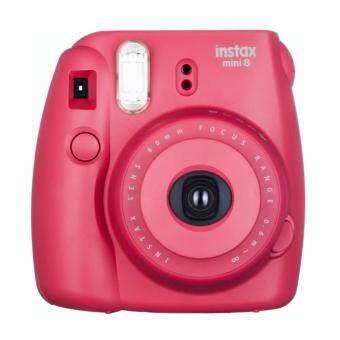 Fujifilm Instax Camera Mini 8 Raspberry + Fujifilm Instax MiniPlainFilm (10pcs) - 2