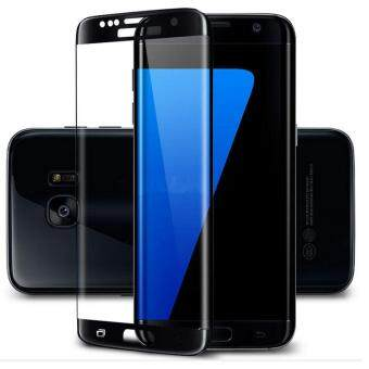 Harga Full Cover Toughened Plating Tempered Glass LCD Screen Protectorfor Samsung Galaxy S7 Edge