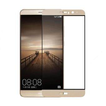 Harga Full Covered Curved Tempered Glass for Huawei Mate 9 (Gold)