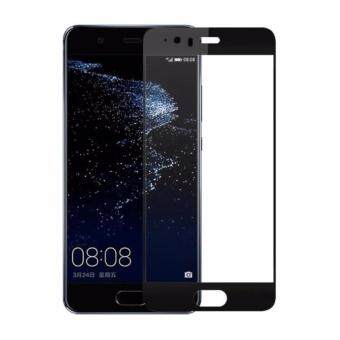 Harga Full Covered Curved Tempered Glass for Huawei P10 (Black)