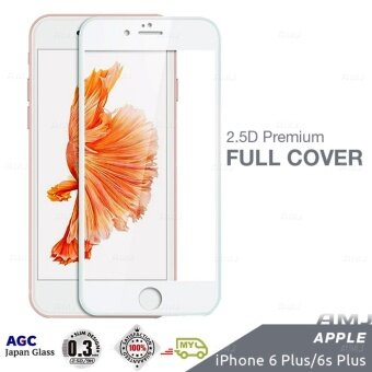Full Covered Premium Tempered Glass Screen Protector Apple iPhone 6 Plus Full Cover 9H 0.3mm