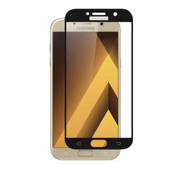 Full Covered Tempered Glass Screen Protector For Samsung Galaxy A5 2017 Black