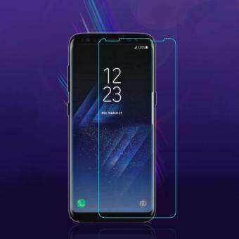 Full Curved Tempered Glass Transparent Screen Film Cover Case For Samsung S8