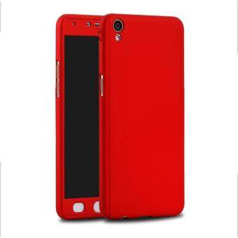 Full Protective Cover 360 Degree Case With Tempered Galss for Oppo Neo 9 A37