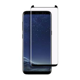 Galaxy S8+ Plus Screen Protector, (Reduced version) PremiumEdge-to-Edge Tempered Glass Screen Protector for Samsung Galaxy S8,Ultra Clear,Bubble Free(Black)
