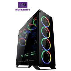 GamingFreak 905G hubble Gaming Chassis duo sideTempered Glass Malaysia