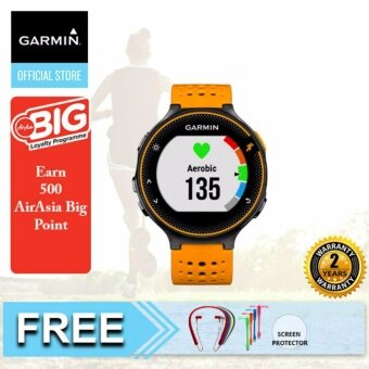 Harga Garmin Forerunner 235 Solar Flare GPS Running Watch with Wrist-Based Heart Rate {Buy 1 Get Freebie}