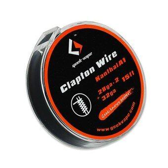 GeekVape Clapton Wire Roll Coil OCC (28ga*2+32ga) Geek Vape (Vape e-cigarette) **Genuine