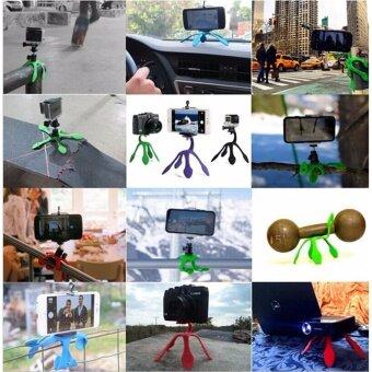 GekkoPod Tripod Flexible Tripod/Mount for GoPro, Action Cameras,Smart Phones& Compact Digital Cameras - 5