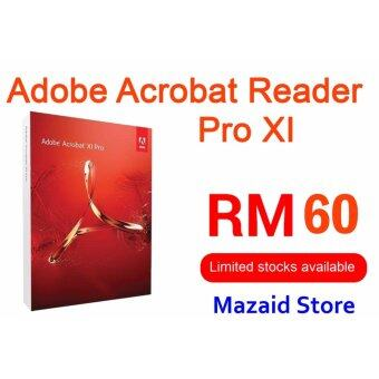 Harga Genuine Adobe Acrobat Reader Pro Professional XI Full Version