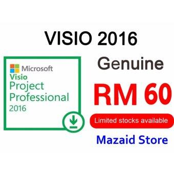 Genuine Microsoft Project Professional Pro 2016