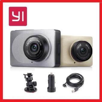"[GENUINE] Xiaomi XiaoYi Yi Car Dashcam 1080P FHD 60fps Car WiFi DVR 2.7"" Screen with ADAS & Lane Departure Warning System - GREY"