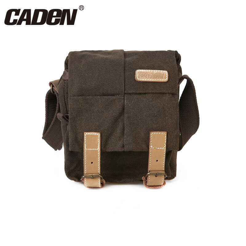 Jual Genuine Caden Hot Sale Cool Waterproof Shockproof Dslr Camera Bag Photography Video Messenger Bag Leisure Shoulder Bag Digital Camera Case Intl Oem Murah