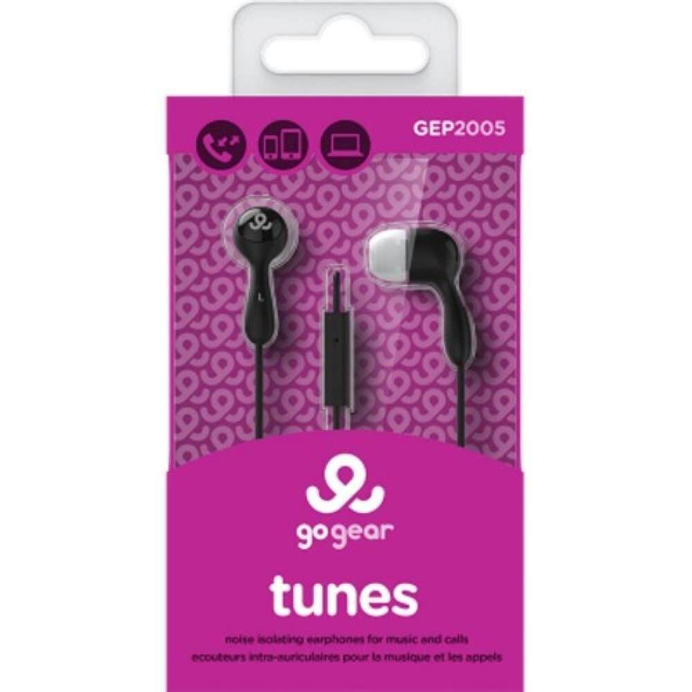 GO GEAR In-Ear Headphones Tunes - Red