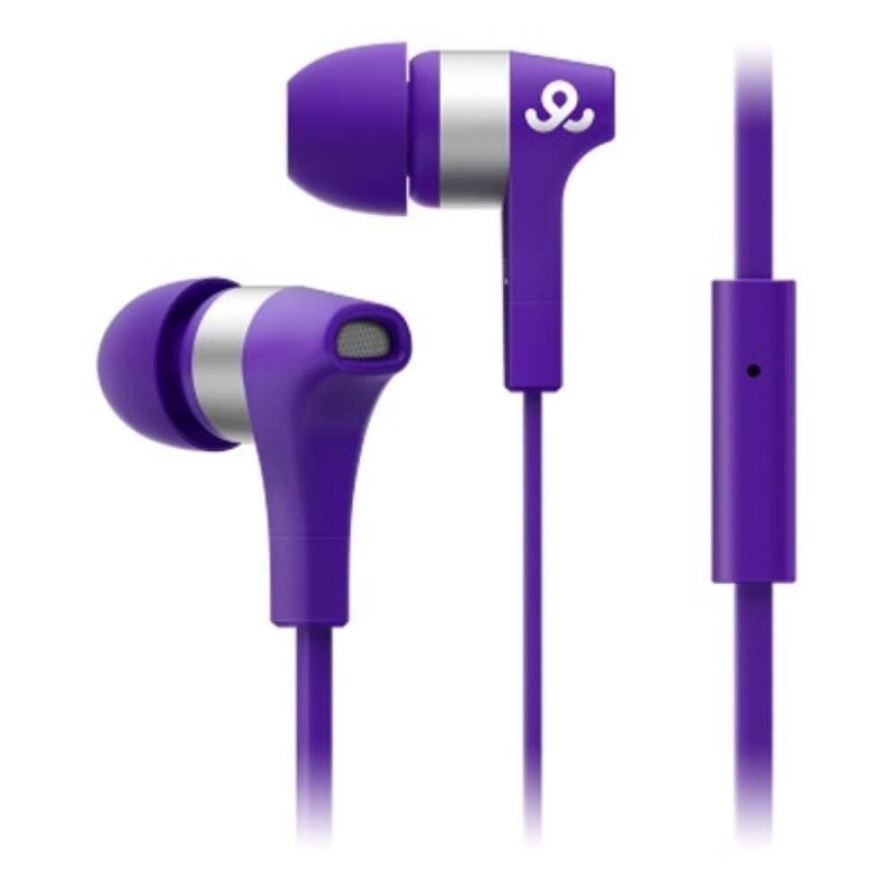 GO GEAR In-Ear Headphones Turbos - Purple (Item No: D11-12) A4R3B44