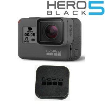 Go Pro Hero 5 Black Lens Protector Cap and Tempered Glass