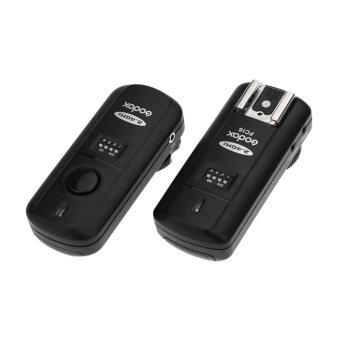 Godox FC-16 2.4GHz 16 Channels Wireless Remote Flash Studio Strobe Trigger Shutter for Nikon D5100 D90 D7000 D7100 D5200 D3100 D3200 (Black)