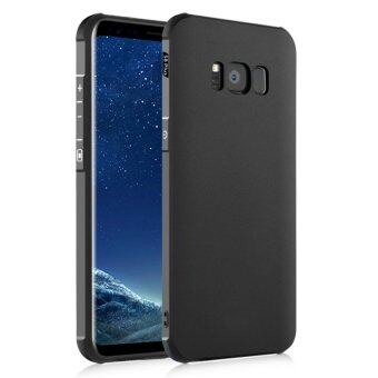 Gogerstar ShockProof Ultra Thin Bumper Soft Silicone Back CaseCover for Samsung Galaxy S8 Plus