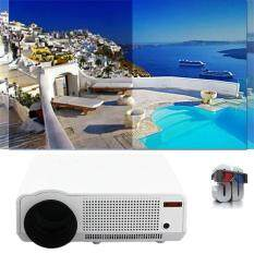 Portable 5000 Lumens Full HD 1080P LED86 LCD WIFI Home Theater Projector white - intl