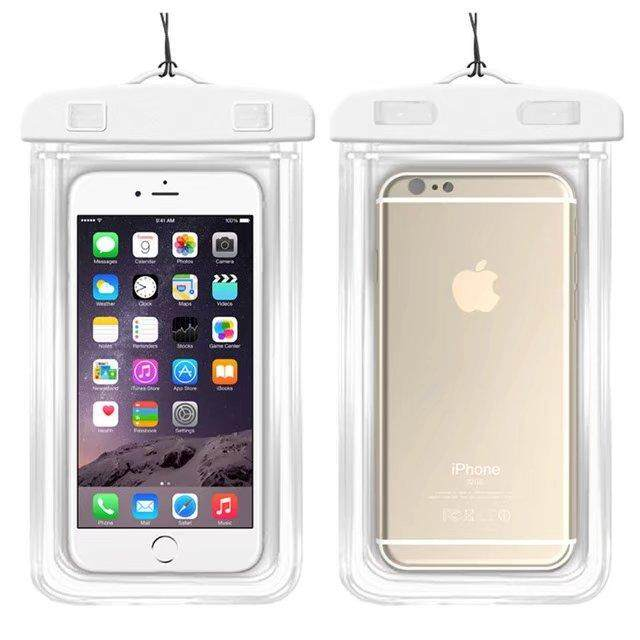 Good quality Waterproof Phone Bags For Alcatel Idol 2 Mini S/6036Y Soft Clear Pouch Case Sport Diving(Suitable for 6 inches below) - intl