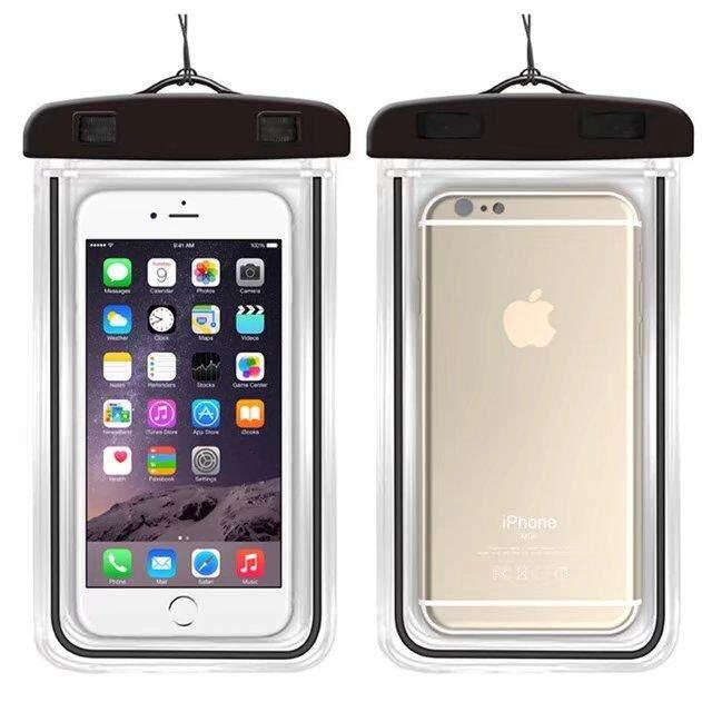 Kualitas Baik Anti-Udara Telepon Tas Anda Alcatel Pixi 4 (6.0) 4G 9001x Lembut Bening Kantung Case Olahraga Menyelam untuk Kompor Bayi 6 Inches Di Bawah)-Internasional