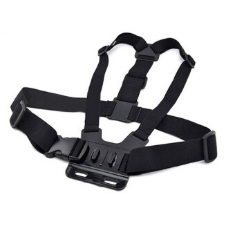 GoPro hero GoPro chest wearing a fixed shoulder strap accessories