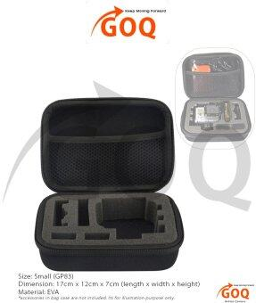 Harga GOQ Small Bag Shockproof Protective Case Accessories Gear for EKENH9 H9 H8 H3 W9 Action Cam (GP83)