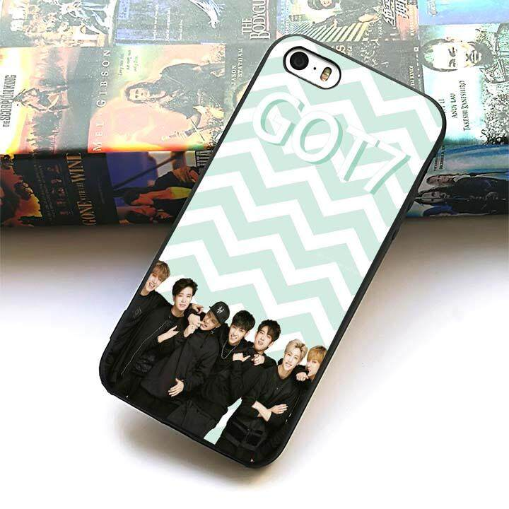 Got7 KPop 5 (2) silicone soft phone case for Apple iPhone 5 5s SE
