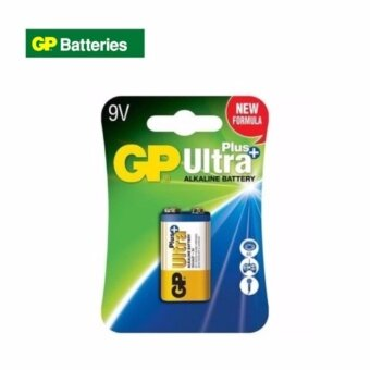 Harga GP Batteries Ultra Plus Alkaline 9V Battery Expire 07/2022