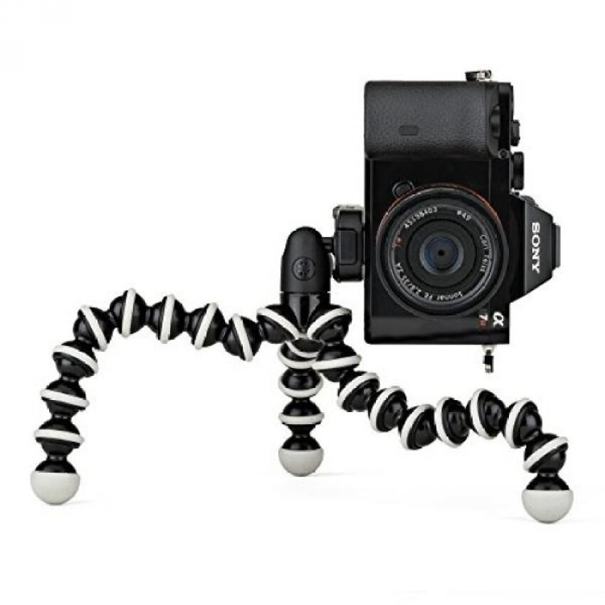 GPL/ JOBY GorillaPod Hybrid Tripod for Mirrorless and 360 Cameras -A Flexible, Portable and Lightweight Tripod With a Ball Head andBubble Level/ship from USA - intl
