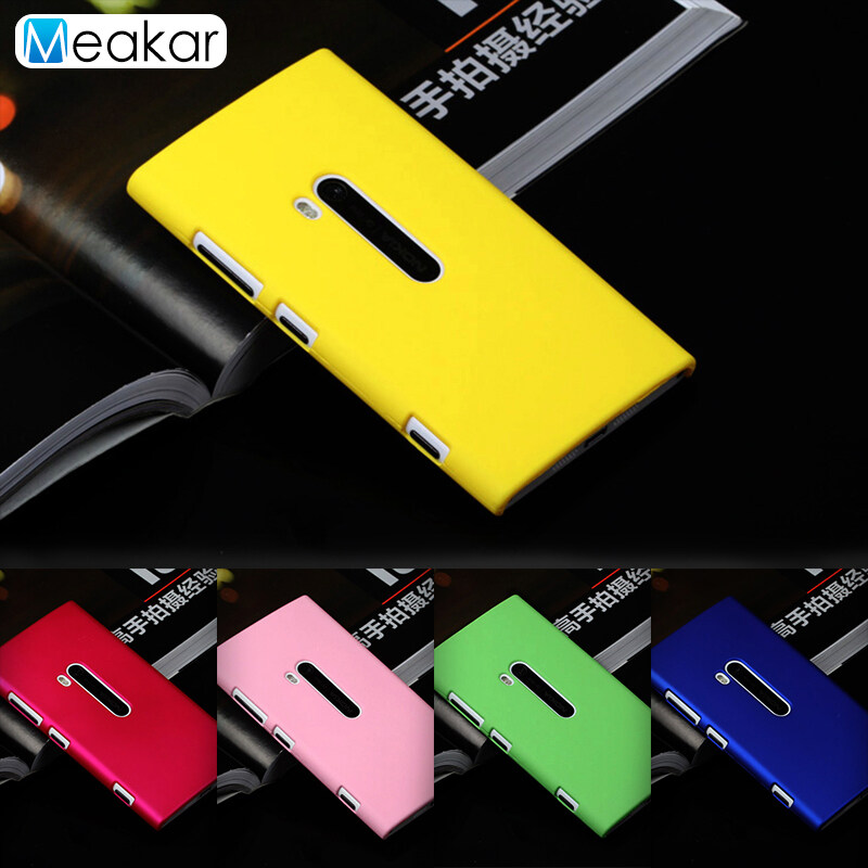 Detail Gambar Grind arenaceous Hard Plastic 4.5 Cell Phone Cover Case for Nokia Lumia 920 -