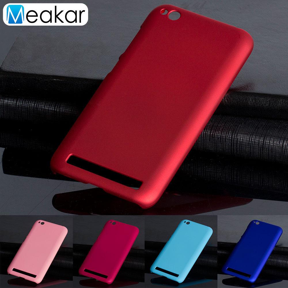 Detail Gambar Grind Arenaceous Keras Plastik Cangkang 5.0 Ponsel Sampul Belakang Case untuk Xiaomi Redmi 5A