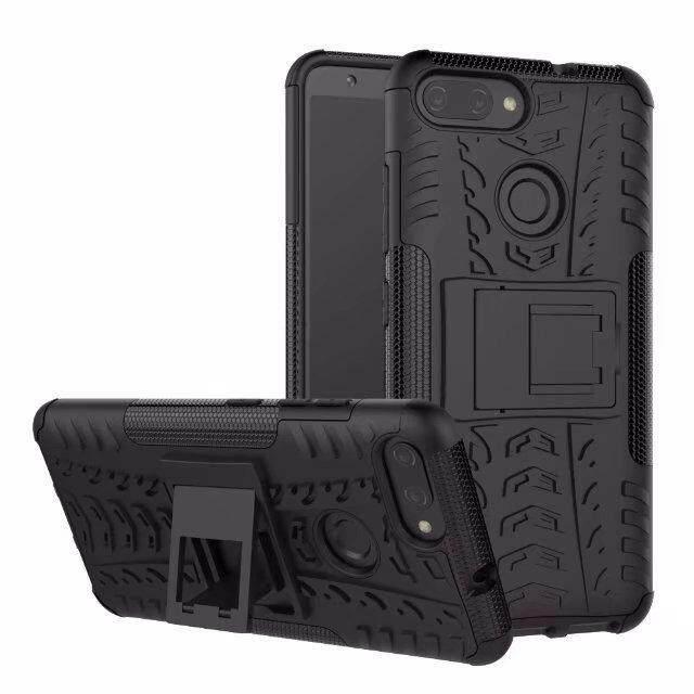 ราคา Hard Plastic Tpu Hybrid Combo Armor Back Protective Cover Case For Asus Zenfone Max Plus M1 X018Dc Zb570Tl Black Intl