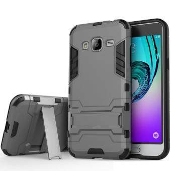 Harga Heavy Duty Dual Layer Drop Protection Shockproof Armor Hybrid SteelStyle Protective Cover Case with Self Stand for Samsung Galaxy A72015
