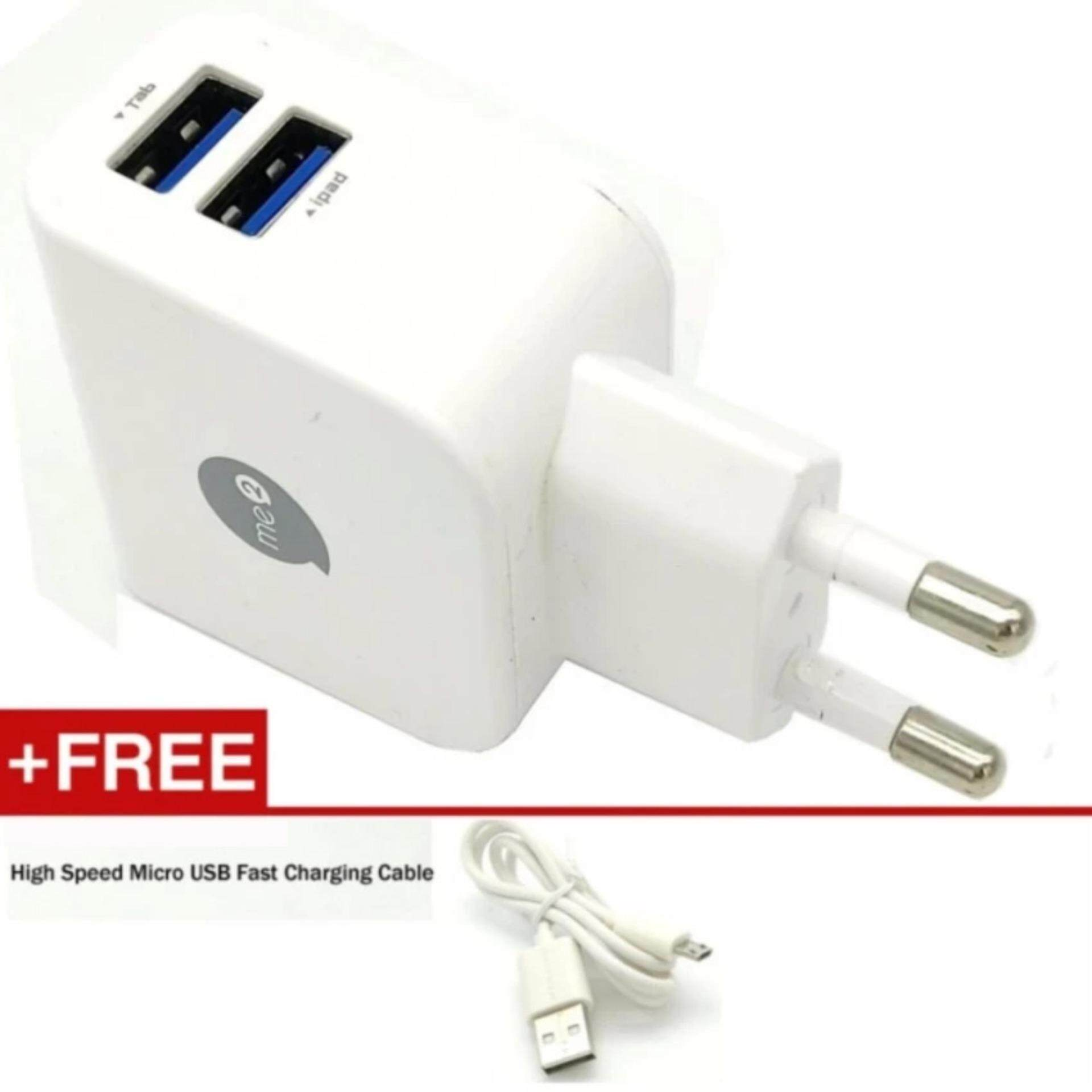 High Quality 2.1A + 1A 2Port Usb Fast Charger For Ipad,Iphone,smartphone,psp,gps,digital camera