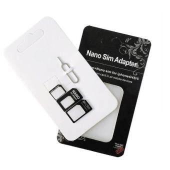 High Quality 4 in 1 Nano Sim Card Adapter