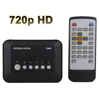 Harga High Quality Brand New 720p HD Media Center MovieRM/RMVB/AVI/MPEG/MKV/MP4 TV Player USB SD/MMC 6-piece Set