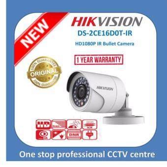 Hikvision DS2CE16D0T-IR 2MP 1080P HDTVI IR Bullet CCTV Camera