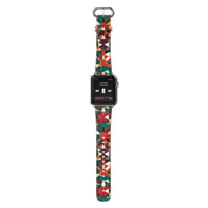 HOCO Tali Kulit Asli Klasik Gesper Tali untuk Apple Jam Tangan 42 Mm