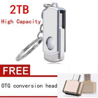 Hot Sell 2TB Pendrive The Metal Usb Flash Drive Pen Drive with Key Chain Usb Stick