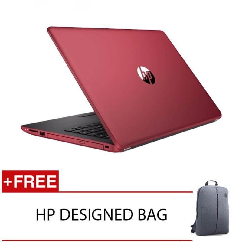 HP 14-BS581TU I3-6006U 4GD4 1TB WIN10H (RED) FREE HP DESIGNED BACKPACK Malaysia