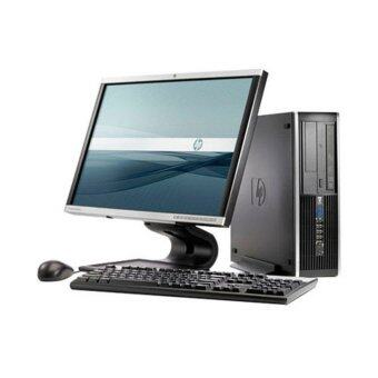 HP Compaq Elite 6000 SFF (Factory Refurbished), C2D, 4GB, 160GB, Win Vista + LCD 19 Inch (HP/DELL) Monitor (3M)