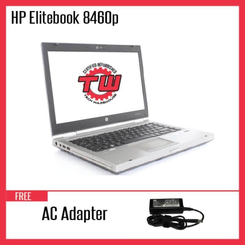 HP EliteBook 8460P (Factory Refurbished) Laptop + Windows 10 (64-Bit) Malaysia