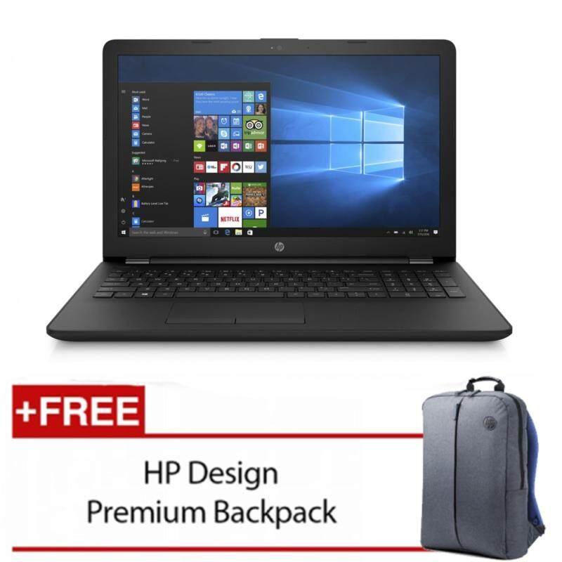 HP Laptop 15-bs003TU(Celeron N3060/4GB D3/500GB/Intel Graphic/15.6HD/W10)Black Malaysia