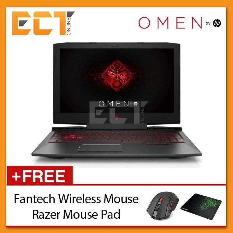 HP Omen 15-ce032TX 15.6 FHD Gaming Notebook (i7-7700HQ 3.80GHz,4GB,1TB,GTX1050-4GB,W10) Malaysia