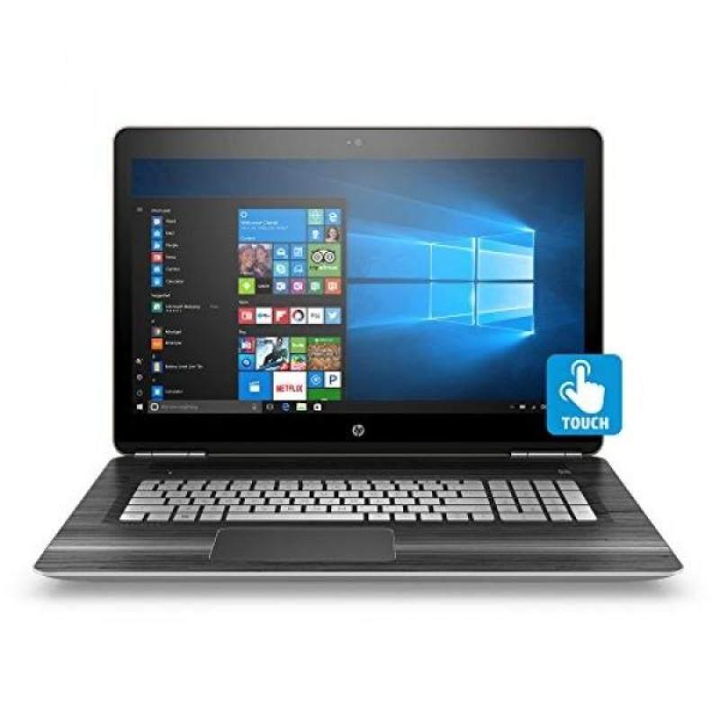 HP Pavilion 17-inch Laptop, Intel Core i7-6700HQ, 12GB RAM, 1TB hard drive, Windows 10 (17-ab220nr, silver) Malaysia