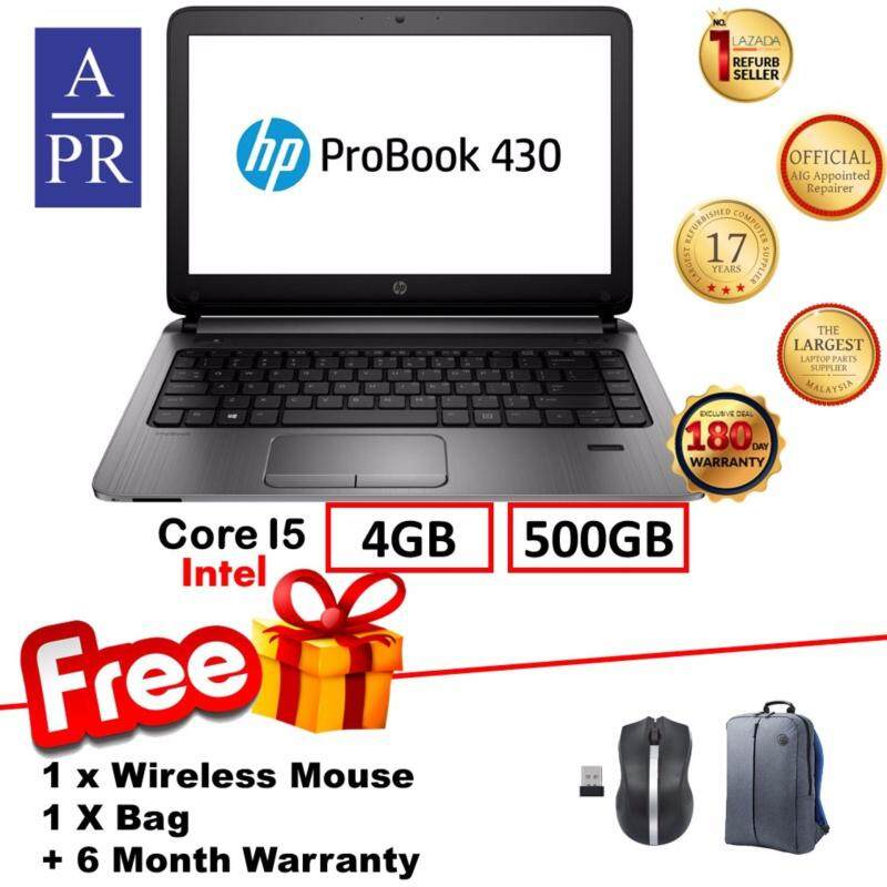 HP ProBook 430 G2 Laptop Notebook Intel Core i5 5200U ,4GB RAM ,500 GB HDD (Factory Refurbished)  + 6 Month Warranty ( Stock Limited ) Super Deal 12.12 Campaign Malaysia