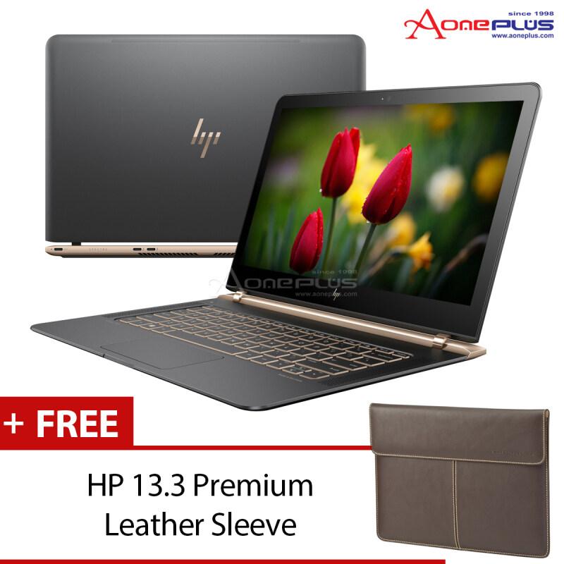 HP Spectre 13-V025TU (X4G14PA#UUF) (intel Core i5-6200U/8GB/256GB SSD/intel HD 520/13.3FHD/W10) + HP 13.3 Leather Sleeve Malaysia